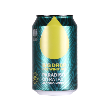 Big Drop Paradiso Citra IPA - Gluten & Alcohol free