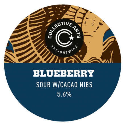 Collective Arts Chocolate Blueberry Sour