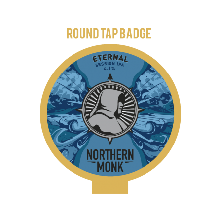 Northern Monk Eternal Tap Badge
