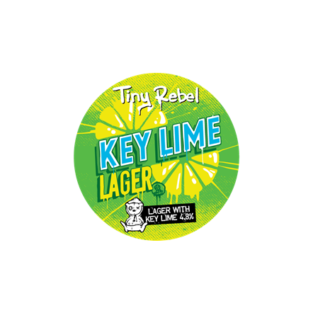 Tiny Rebel OOD Key Lime Lager (BBE 31.1.21)
