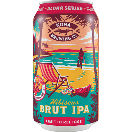 Kona Brewing Co Hibiscus Brut IPA