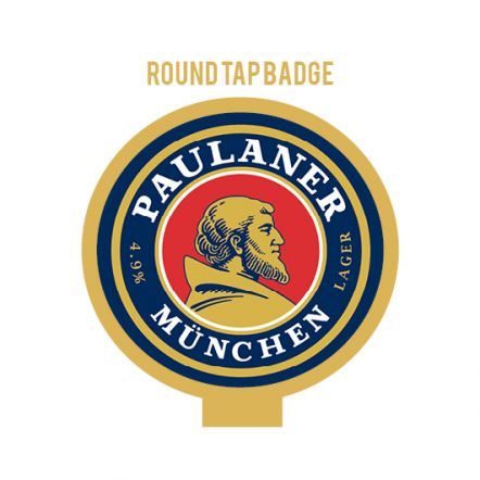 Paulaner Munich Lager Tap Badge