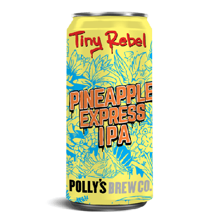 Tiny Rebel Pineapple Express (x Polly's)