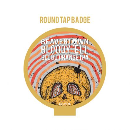Beavertown Bloody Ell Tap Badge