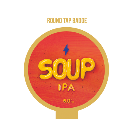 Garage SOUP Tap Badge
