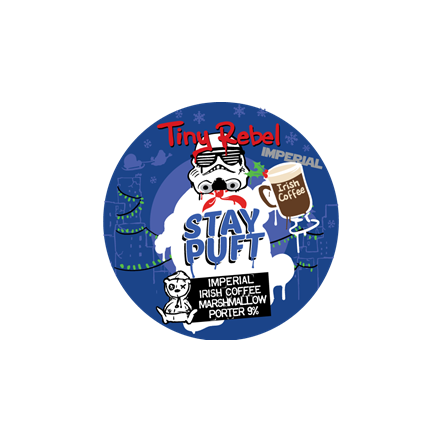 Tiny Rebel Imperial Stay Puft Irish Coffee