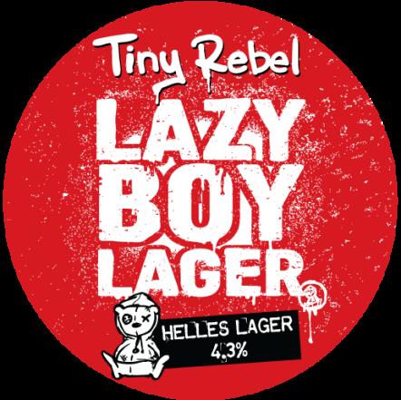 Tiny Rebel Lazy Boy Lager