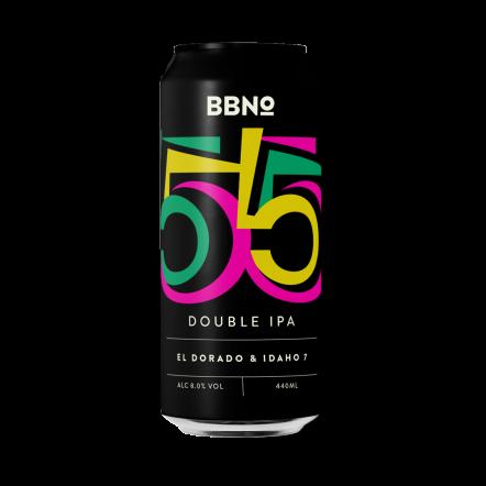 Brew By Numbers 55 Double IPA - El Dorado & Idaho 7