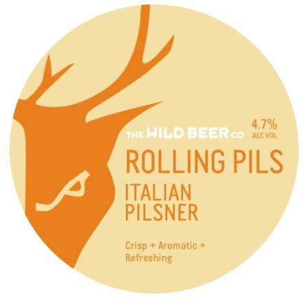 Wild Beer Co Rolling Pils