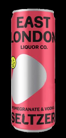 East London Liquor Company Pomegranate Vodka Seltzer