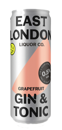 East London Liquor Company Gin & Tonic (Low ABV)