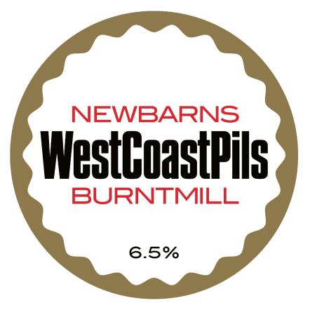 Newbarns Westcoast Pilsner (x Burnt Mill)