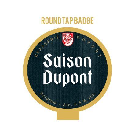 Dupont Saison Dupont Tap Badge