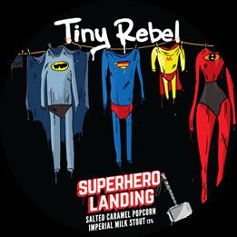 Tiny Rebel Super Hero Landing