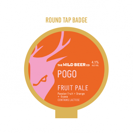 Wild Beer Co Pogo Tap Badge