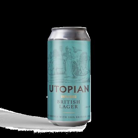 Utopian Unfiltered British Lager