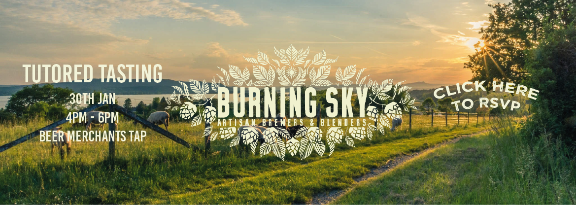 Burning Sky tutored tasting